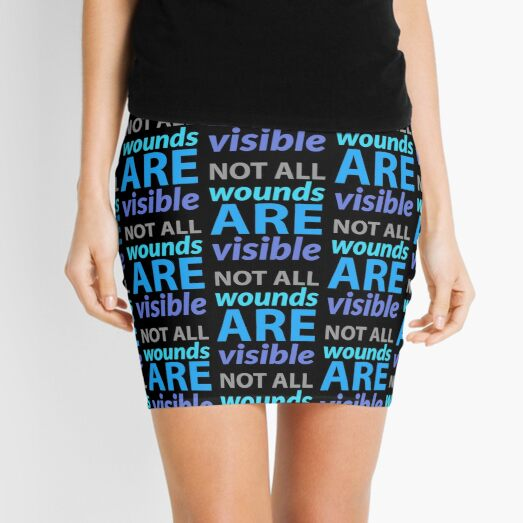 mental health campaign Mini Skirt