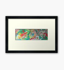 Chaos Two-Step Framed Print