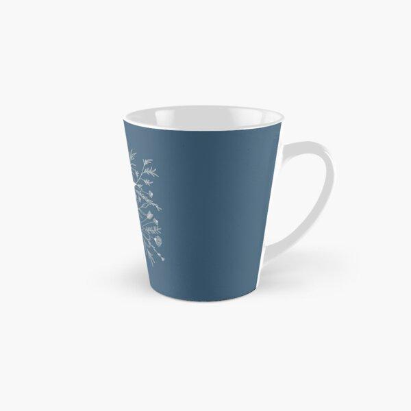 Botanical Letter Y (Lake Blue) Tall Mug
