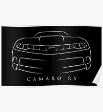 Chevy Camaro RS Poster