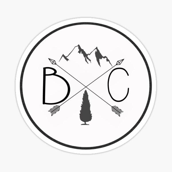 BC- British Columbia Sticker