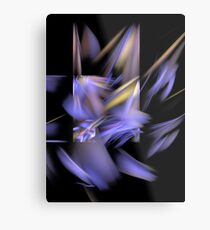 Complementary Shapes Metal Print