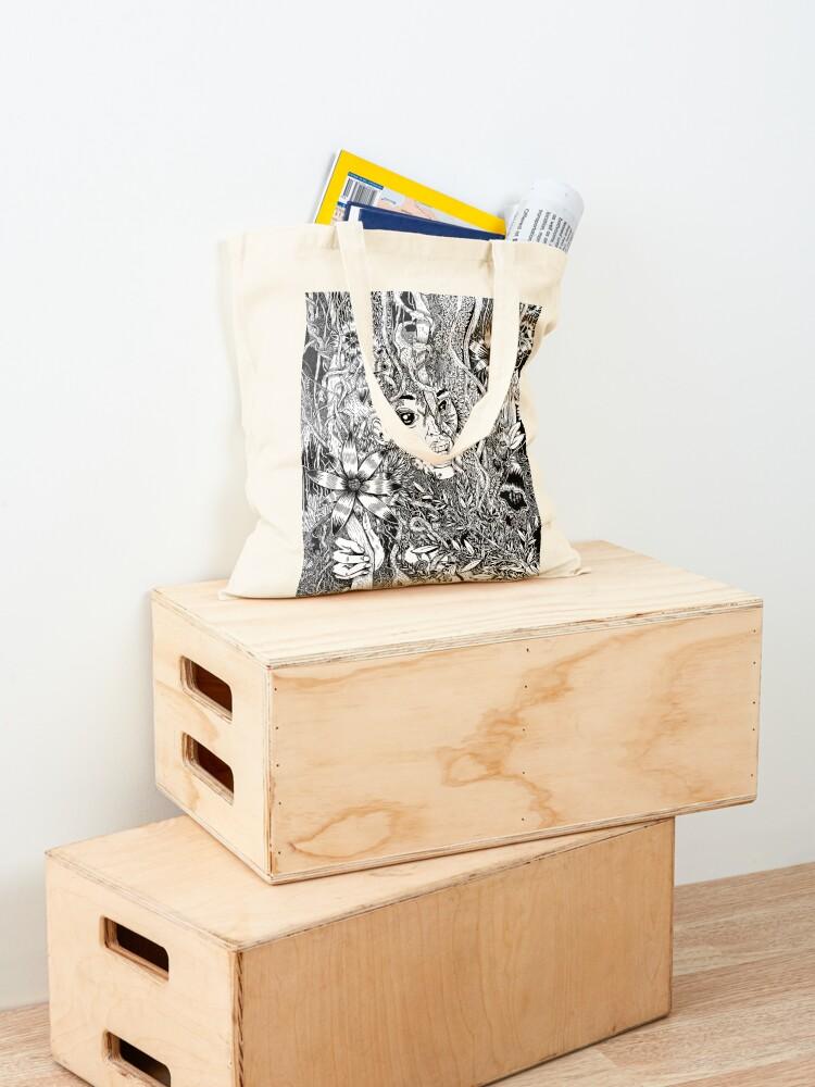 Alternate view of JUNGLE 2 Tote Bag