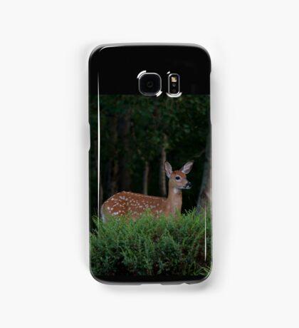 Fawn in forest Samsung Galaxy Case/Skin