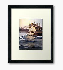 Balmain Ferry, Sydney Framed Print