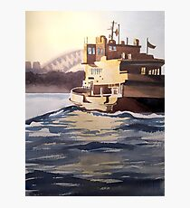 Balmain Ferry, Sydney Photographic Print