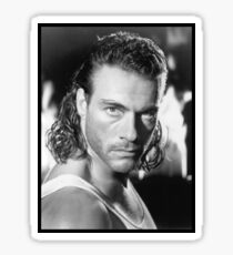 Jean Claude Van Damme Sticker