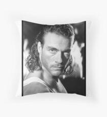 Jean Claude Van Damme Throw Pillow