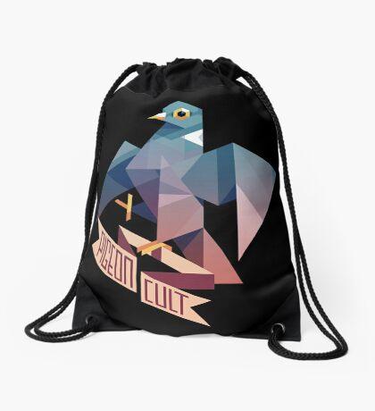 Pigeon Cult Drawstring Bag