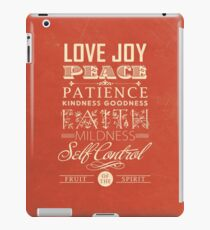 Frucht des Geistes (Galater 5:22) iPad-Hülle & Klebefolie