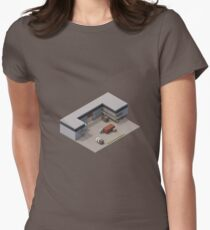 Isometric de_cache Women's Fitted T-Shirt