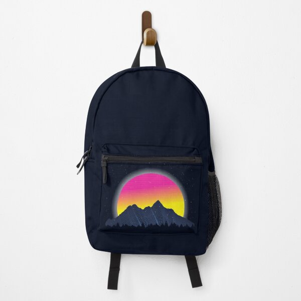 RETROWAVE MOUNTAINS Backpack