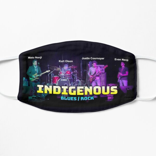 INDIGENOUS Blues / Rock Flat Mask