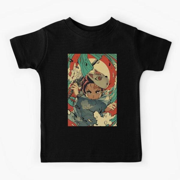 Demon Slayer Kimetsu No Yaiba Tanjiro Kids T-Shirt