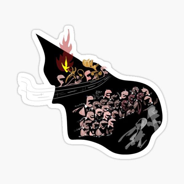 Plato's Cave Sticker