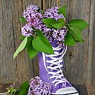 Lilac Sneaker by Maria Dryfhout
