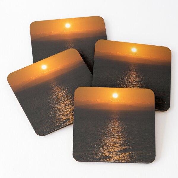 Sunrise Sunset Coasters (Set of 4)