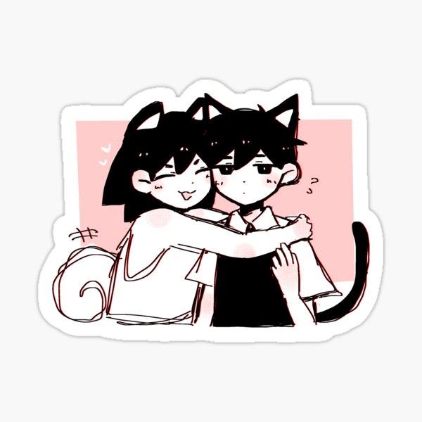 Omori Kel and Sunny Glossy Sticker