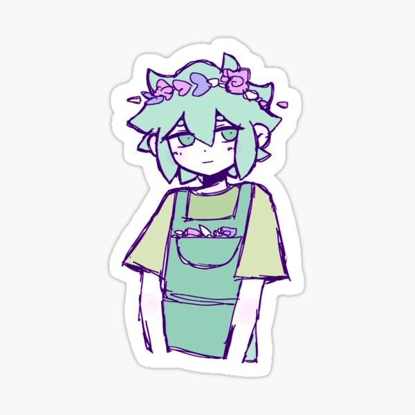 OMORI Basil Glossy Sticker