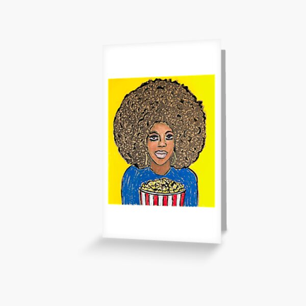 Buttered Popcorn Greeting Card