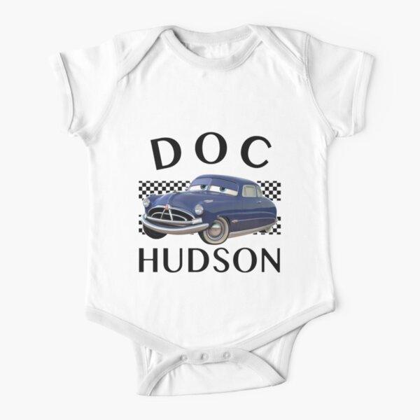 Cars Chicos Doc Hudson Body de manga corta para bebé