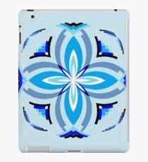 10 - Blue iPad Case/Skin