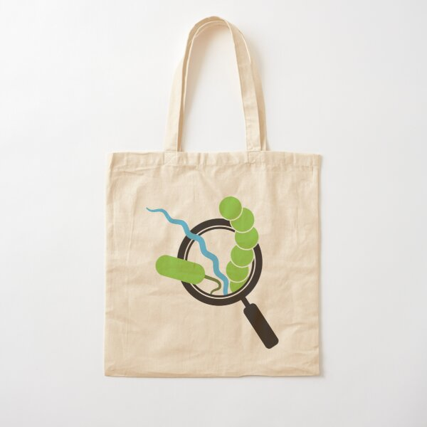 BBM Magnifying Glass Cotton Tote Bag