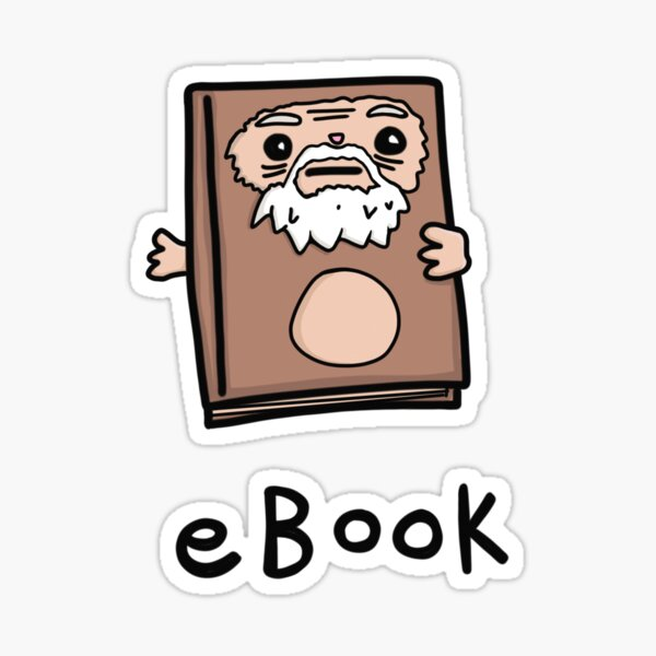eBook Sticker