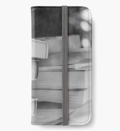 Booked Erudition iPhone Wallet