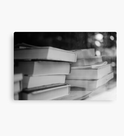 Booked Erudition Canvas Print