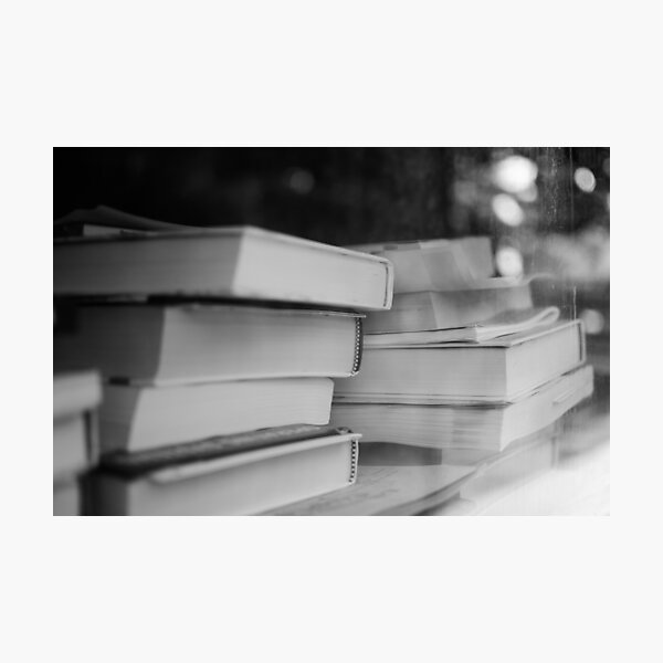Booked Erudition Photographic Print