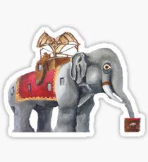 Lucy the Elephant Sticker
