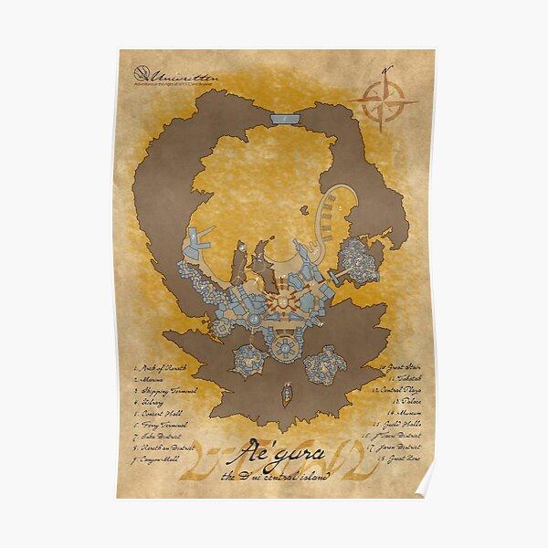 Ae'gura Map Poster