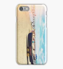Wildwood Crest Beach Boat iPhone Case/Skin