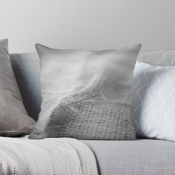 Torn Throw Pillow