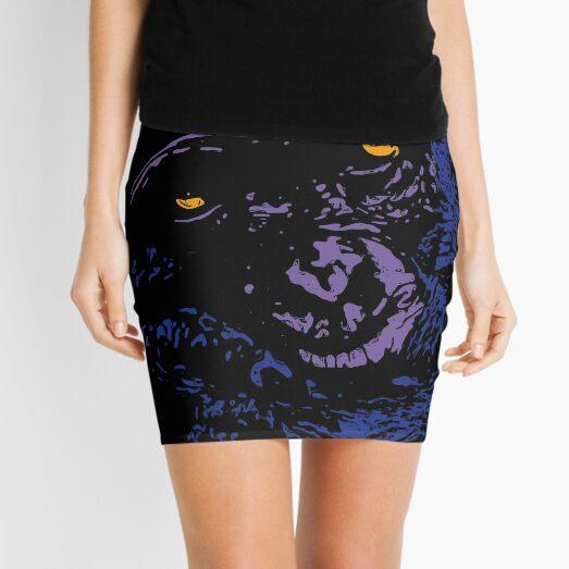 A Very Thoughtful Chimpanzee - Nocturne Mini Skirt