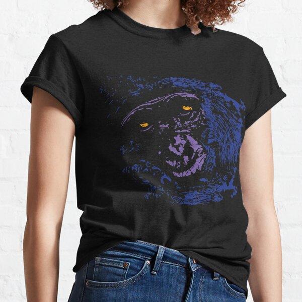 A Very Thoughtful Chimpanzee - Nocturne Classic T-Shirt