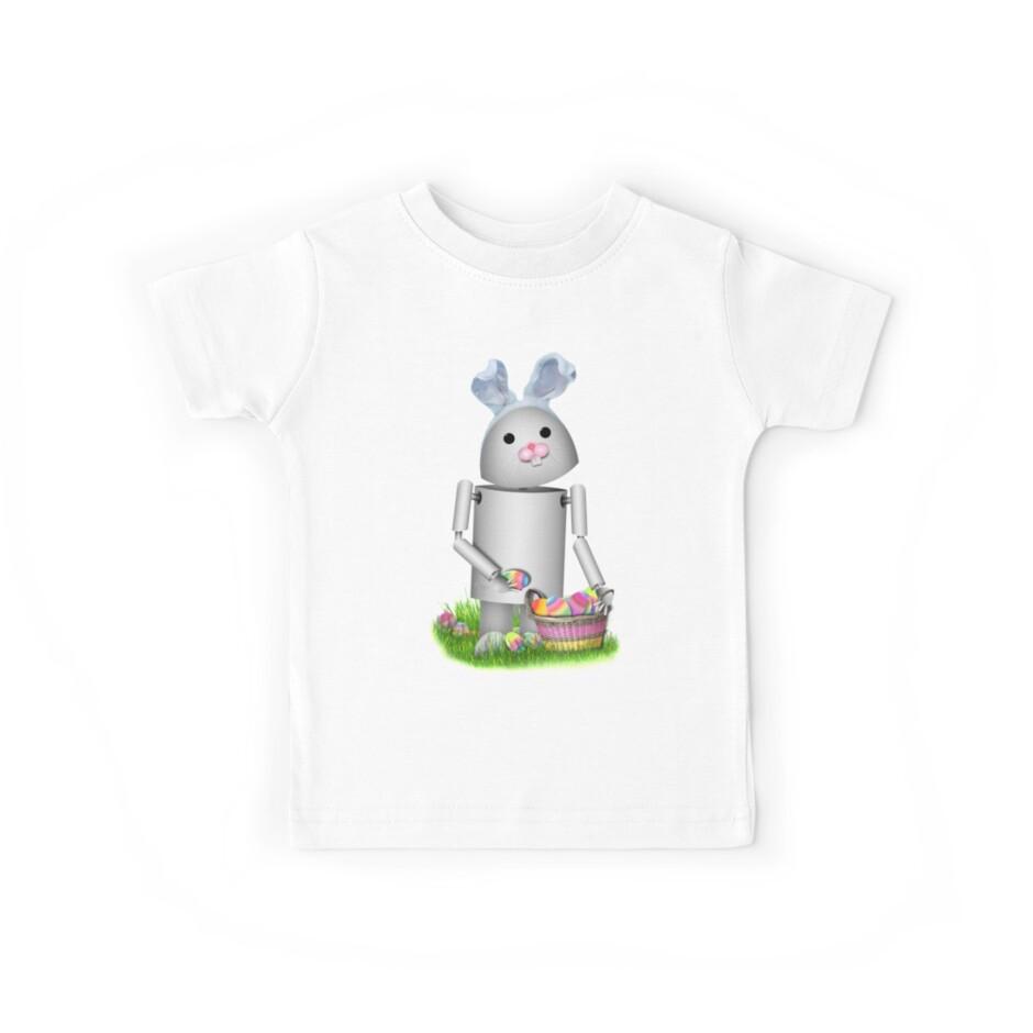 Cute Easter Robot -  Robo-x9  by Gravityx9