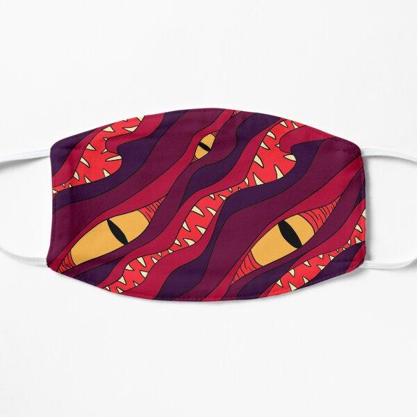 Sunset Blood Mimic Pattern Flat Mask
