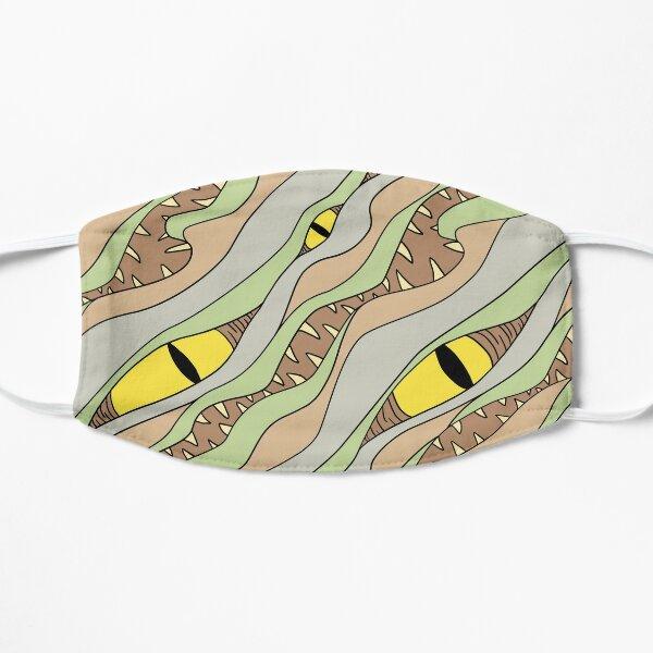 Grassy Mimic Pattern Flat Mask