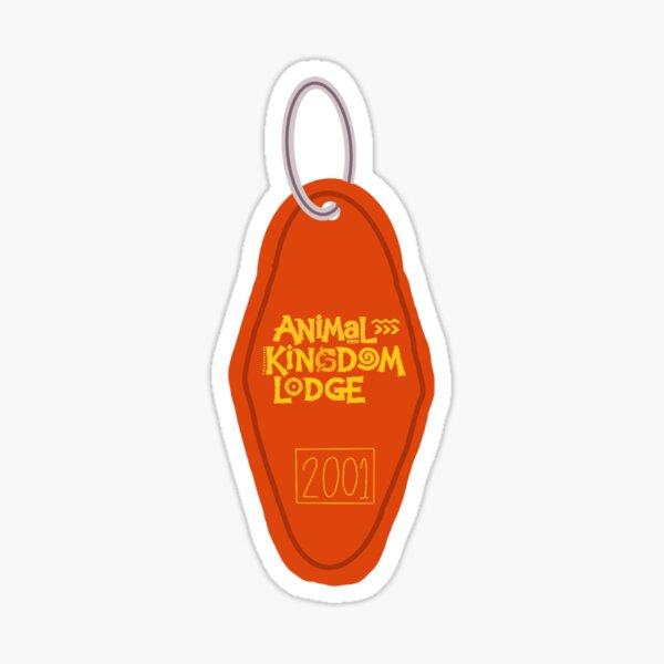 Animal Kingdom Lodge Key Chain Sticker