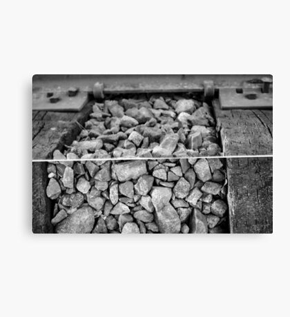 Rocks and a Hard Place Canvas Print
