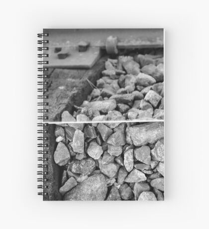Rocks and a Hard Place Spiral Notebook