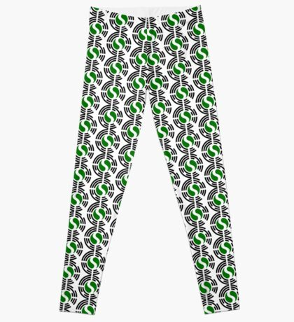 Korean Nigerian Multinational Patriot Flag Series Leggings