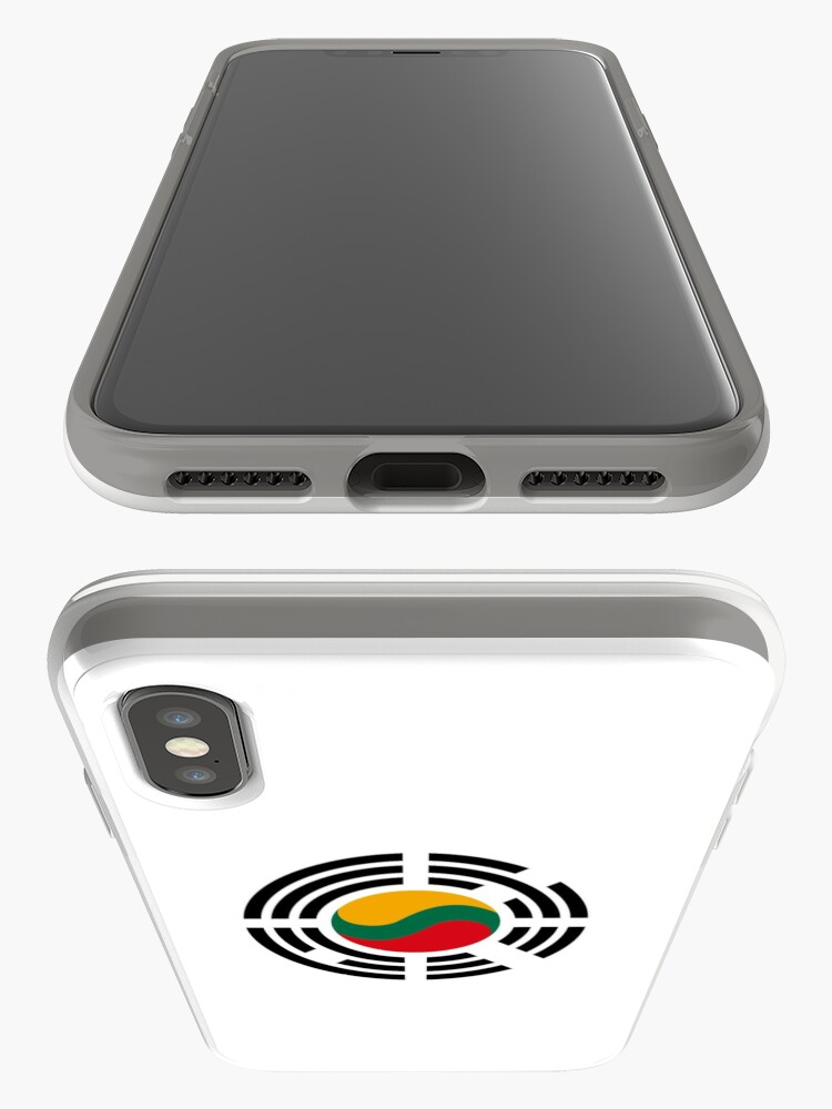 Alternate view of Korean Lithuanian Multinational Patriot Flag Series iPhone Case & Cover