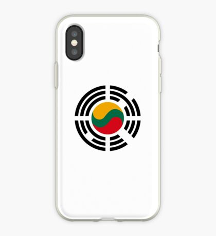 Korean Lithuanian Multinational Patriot Flag Series iPhone Case