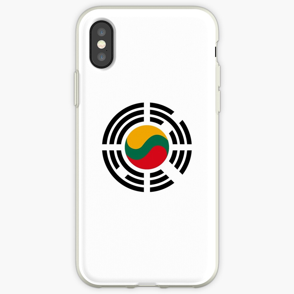 Korean Lithuanian Multinational Patriot Flag Series iPhone Case & Cover