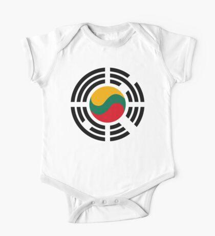 Korean Lithuanian Multinational Patriot Flag Series Kids Clothes