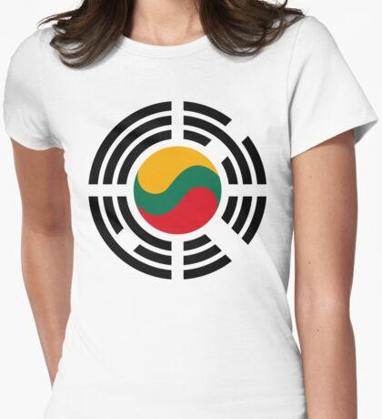 Korean Lithuanian Multinational Patriot Flag Series T-Shirt