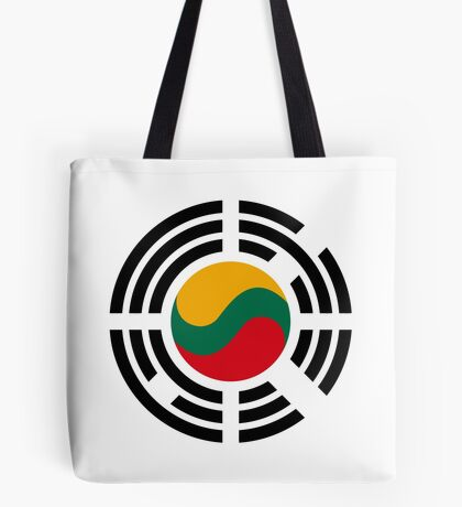 Korean Lithuanian Multinational Patriot Flag Series Tote Bag